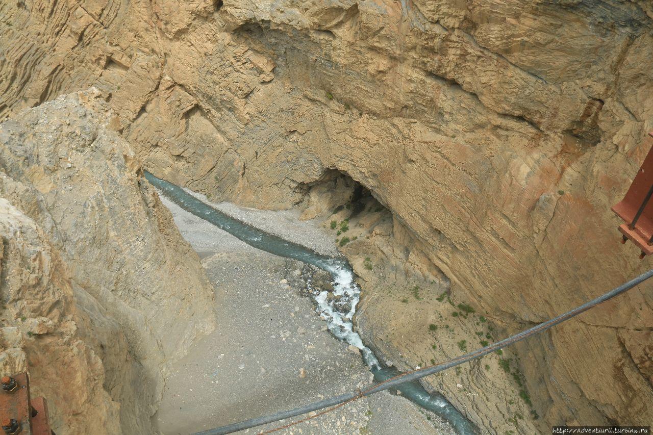 Расстояние с моста до зем