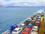 Паром между Северным и Южным островом Новой Зеландии идет три часа