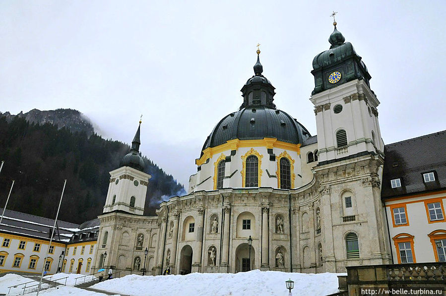 Монастырь Этталь, январь 2013г.