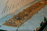 Макет плота на Рейне