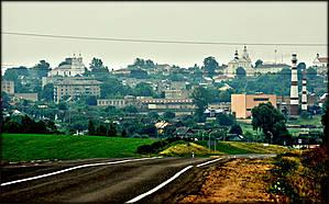 Вот такая живописная панорама Новогрудка открывается  при подъезде к городу.