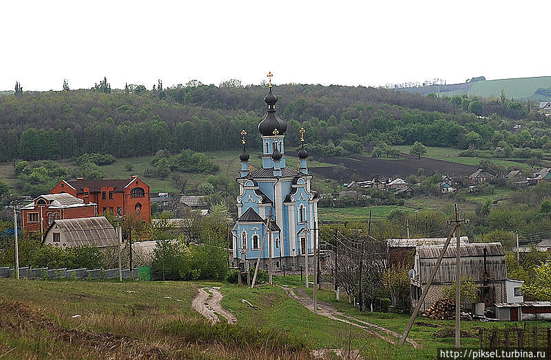 Панорама села (Из Панорамио, автор V&A Dudush)