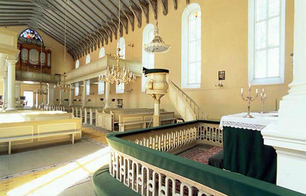 Интерьер церкви. Фото с с