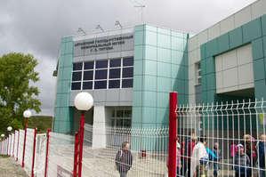 Главный вход в здание музея