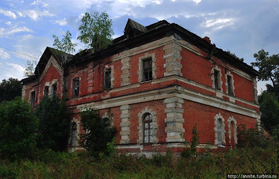 Соха — еще одна усадьба фон Дервизов Старожилово, Россия