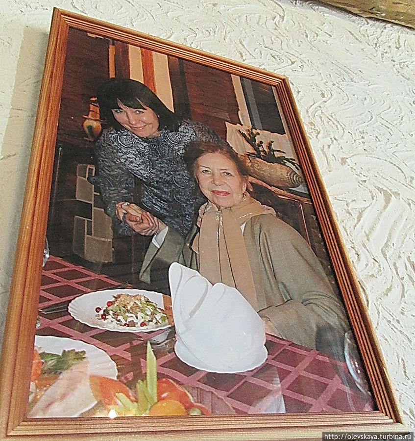 Инна Макарова в этом кафе