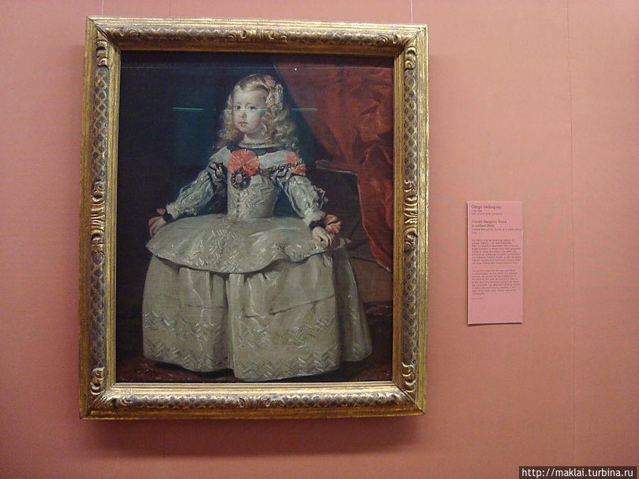 Д. Веласкес. Портрет инфанты Маргариты.