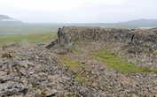 Скальное образование-крепость Боргарвирки