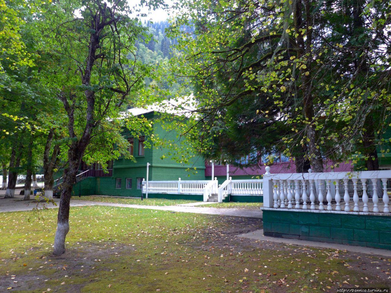 Госдача Сталина на Рица №5 Рица Реликтовый Национальный Парк, Абхазия