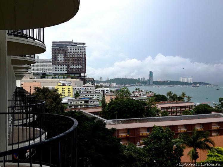 Вид с балкона 7 этажа на