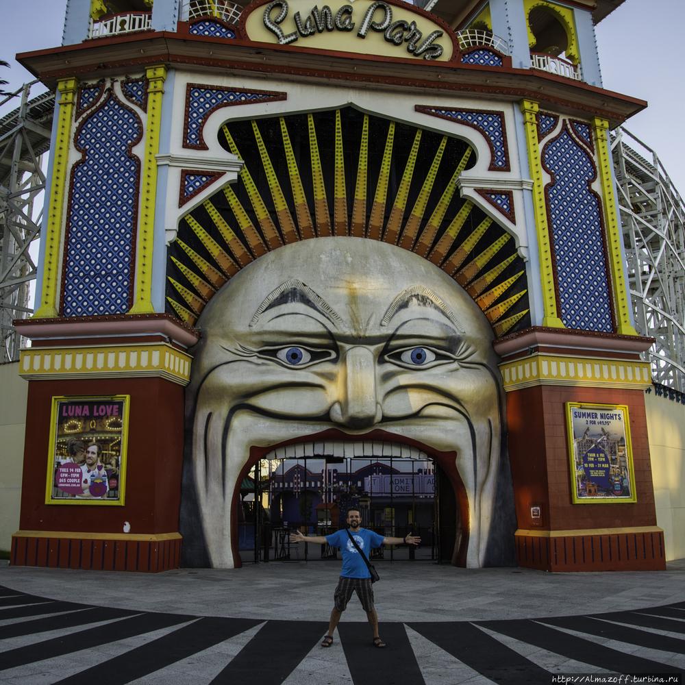 Андрей Алмазов в Мельбурн
