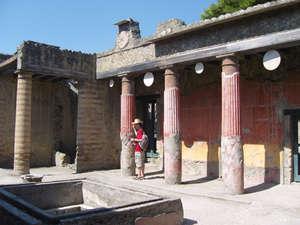 Второй по величине дом в Геркулануме