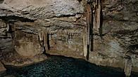 Выход подземной реки.