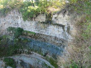 Фото водопада, сделанное автором (осень)