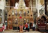 Фотографировать в храме нельзя, вернее, можно с  благослования игумена. Игумена в церкви не оказалось...