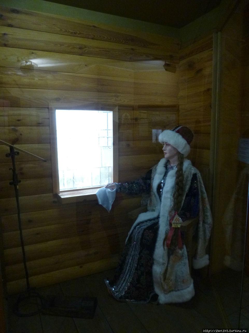 Верхотурье было популярным местом ссылки несостоявшихся невест или надоевших жен царей или знатных бояр. Боярская или царская невеста грустит у окна, оплакивая свою разбитую судьбу