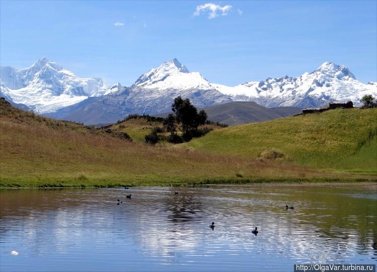 Озеро Wilcаcocha в горах