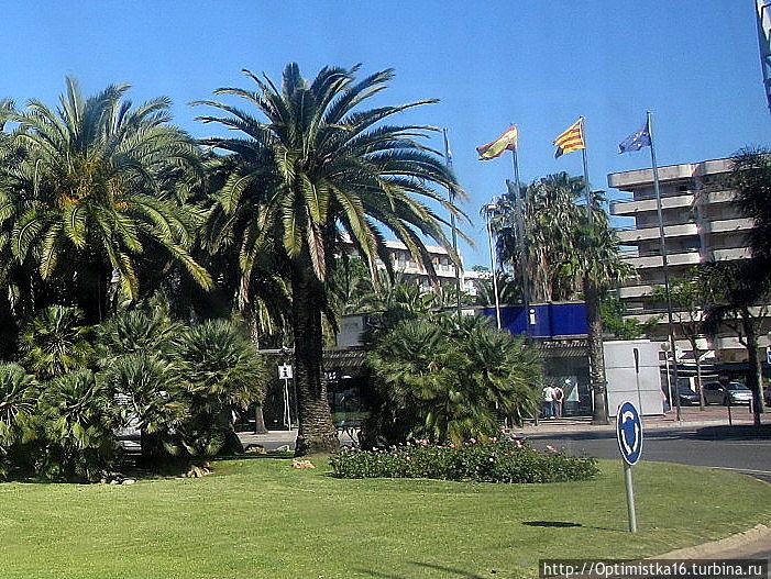 Офис туристической информации на  Plaça d'Europa