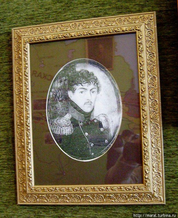 Портрет графа Матвея Дмитриева-Мамонова в Рыбинском музее-заповеднике