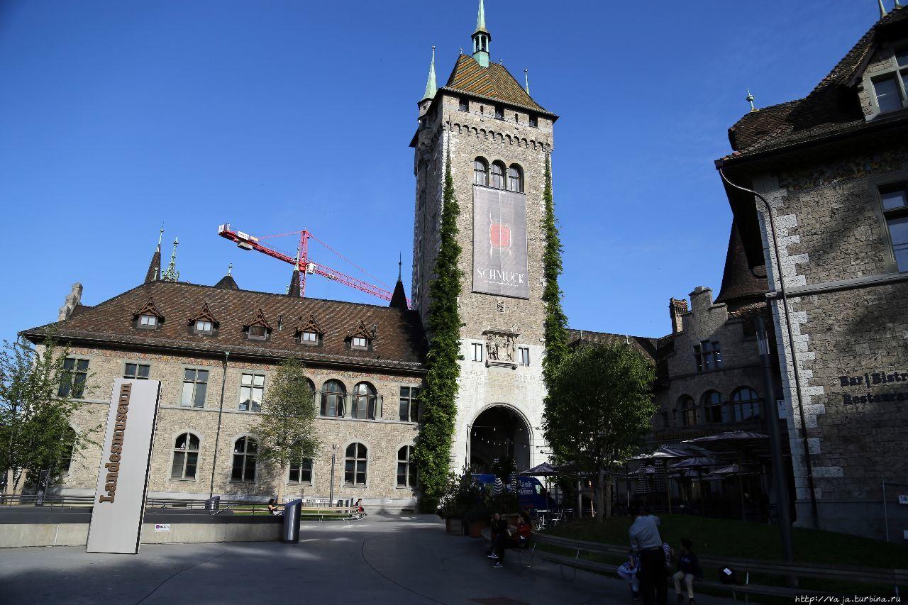 Здание музея Цюрих, Швейцария