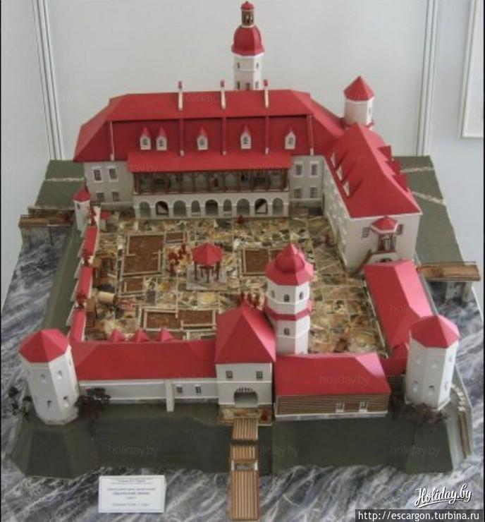 Макет Быховского замка