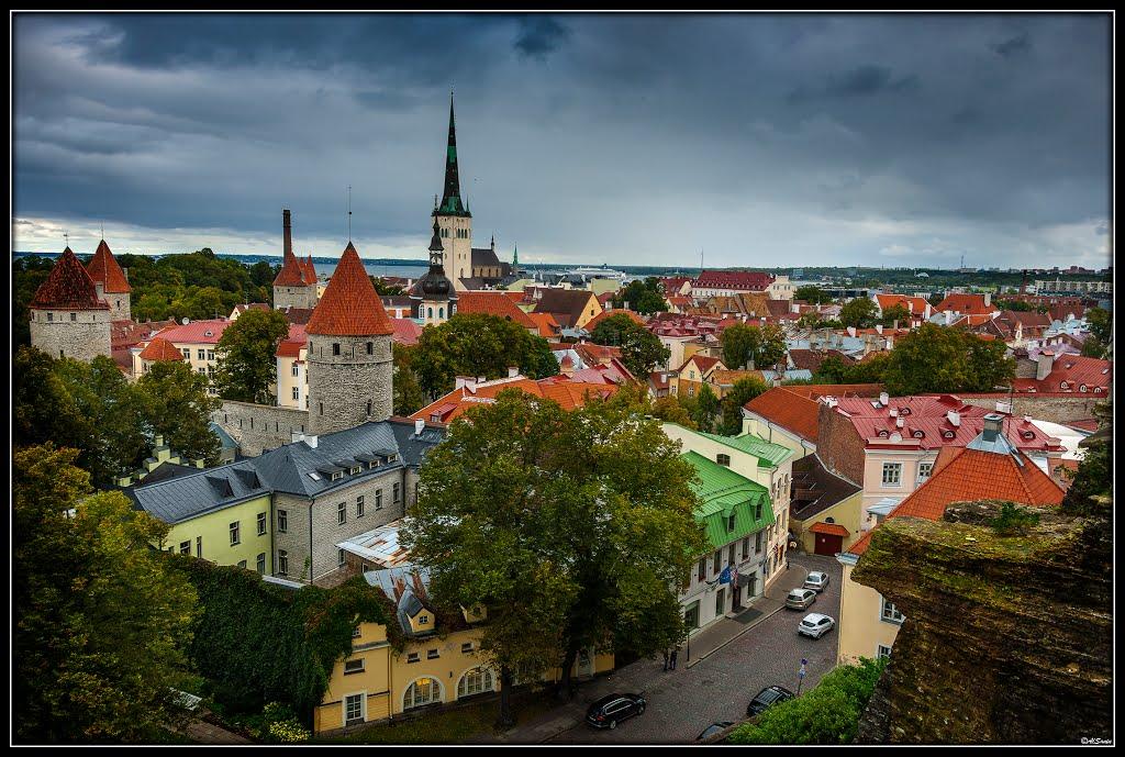Исторический центр города Таллин / Old town of Tallinn (historic center)