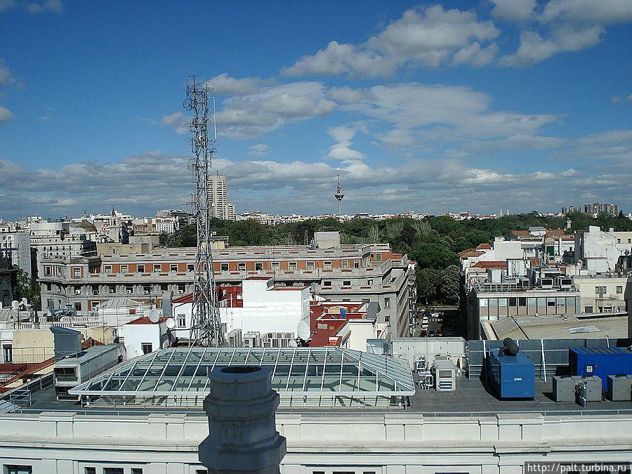 Вид со смотровой, на заднем плане телебашня Торреспанья