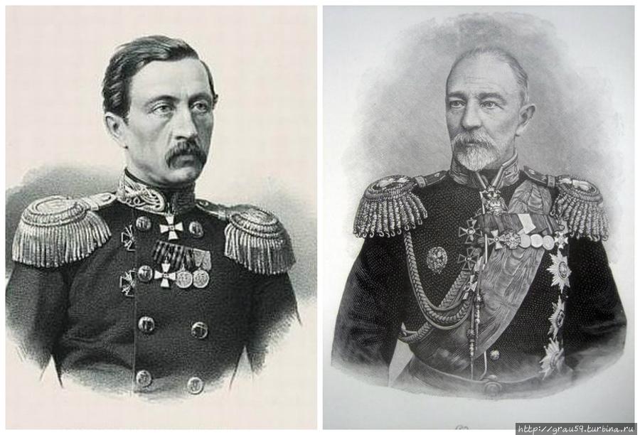 Адмиралы П.А.Перелешин и С.П.Тыртов..