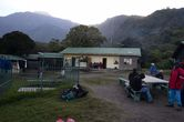 Первый лагерь вулкана Меру.