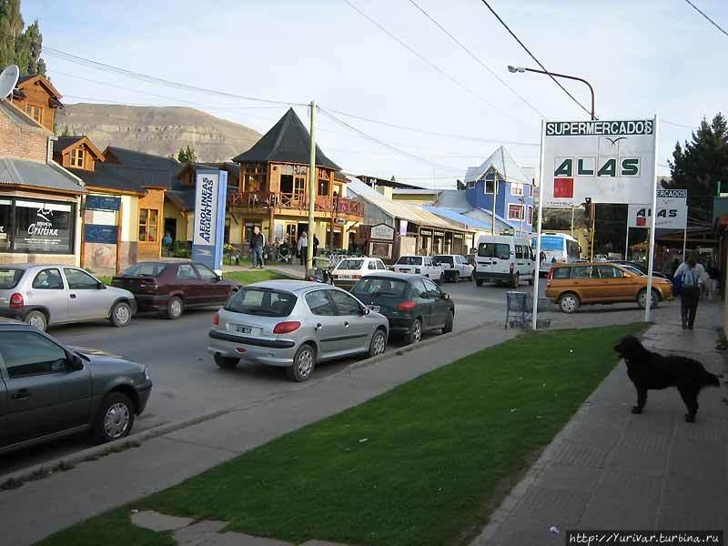 Центральная улица Эль Кал