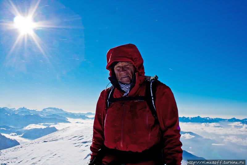 Юрий Суханов на вершине М