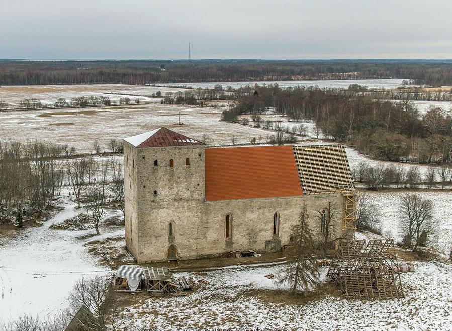 Церковь в 2014-м году. Эстонская Википедия