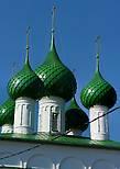 Центр Пошехонья Ярославской обл. Троицкий Собор