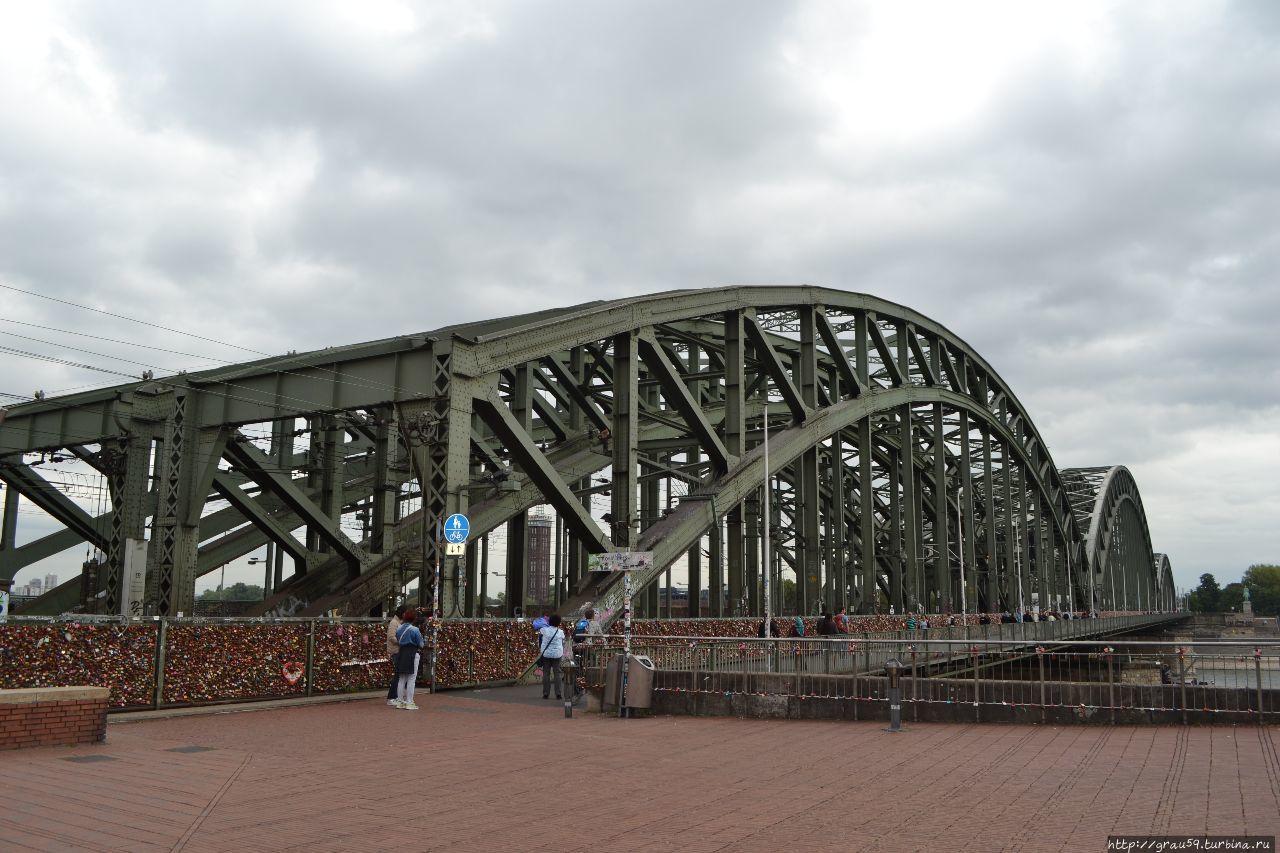 Мост Гогенцоллернов: поезда, короли и альпинисты