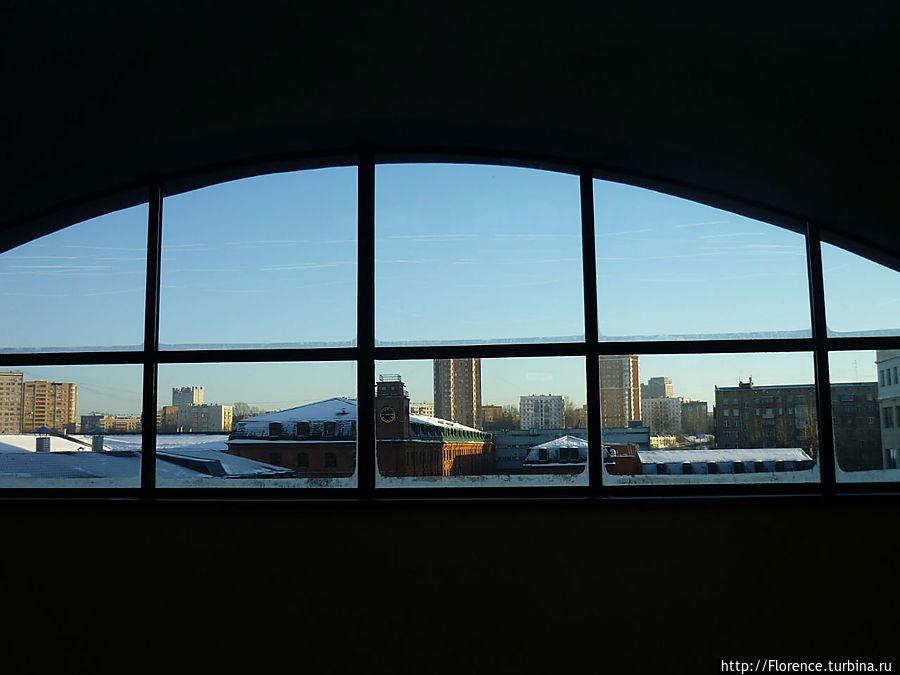 Вид из окна третьего этажа музея