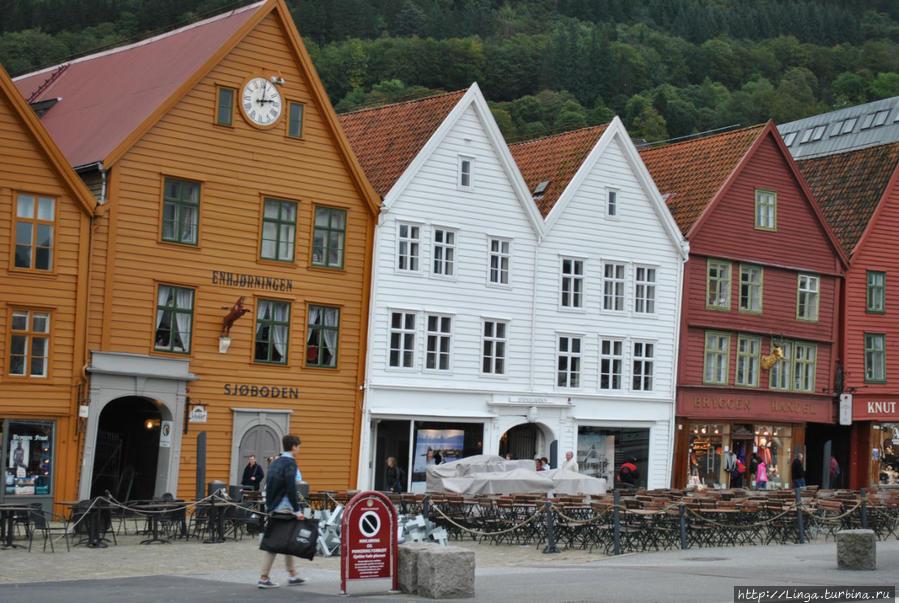 Квартал Брюгген Берген, Норвегия