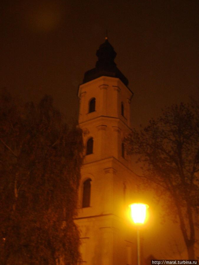 Костел Успения Пресвятой Девы Марии бывшего монастыря францисканцев