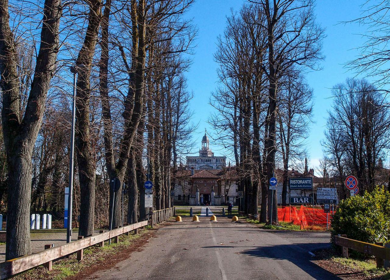 Чертоза ди Павиа — шедевр среди полей Павия, Италия