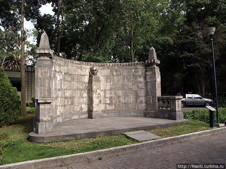 Монумент Хосе Марти, 1953