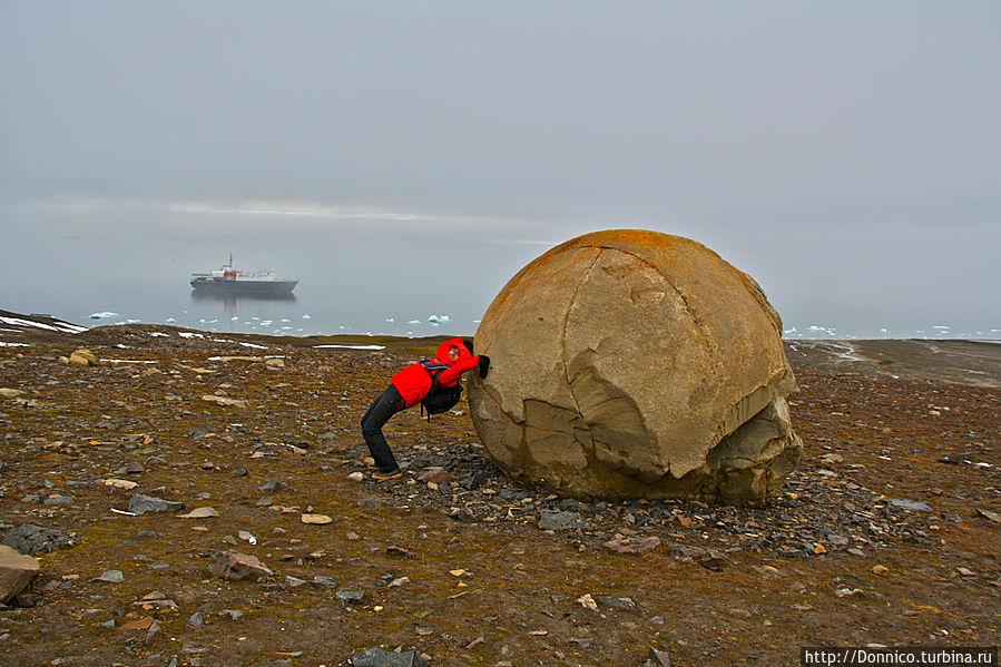 Сферолиты острова Чамп — загадка планеты Земля Франца-Иосифа архипелаг, Россия