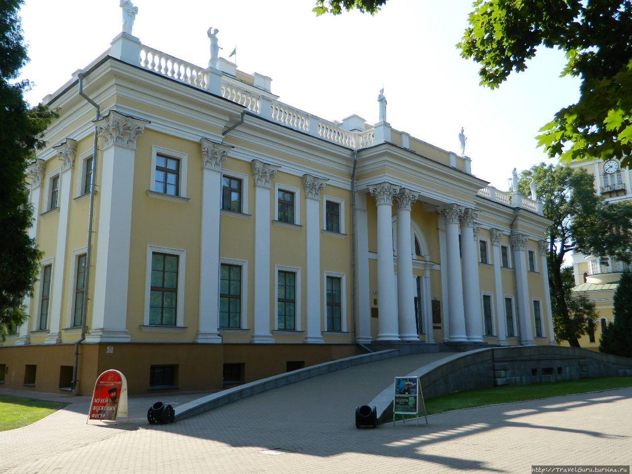 Фасад дворца Румянцевых-П