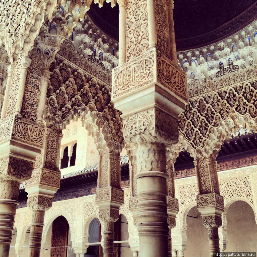 Жемчужина Альгамбры — дворец Насридов
