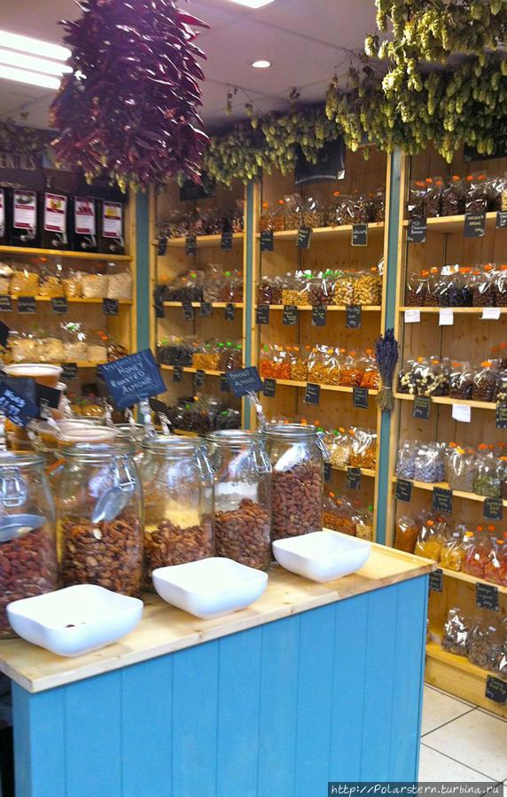 Специи и орехи