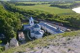 Вид на Дон и Свято-Успенский монастырь