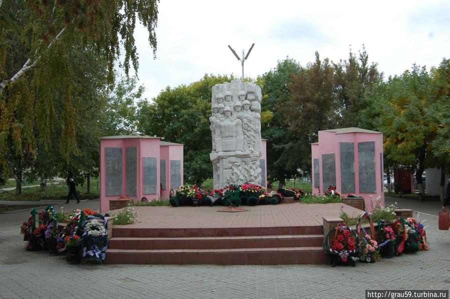 Парк Победы Хвалынск, Россия