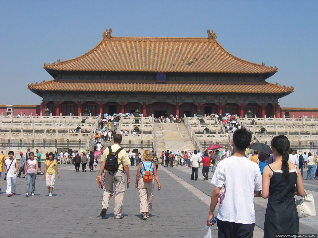 Пекин. Гугун Дворец Тайхэ