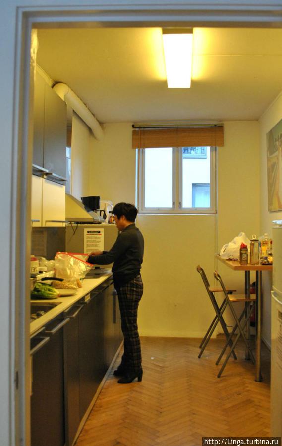 Кухня со всем необходимым