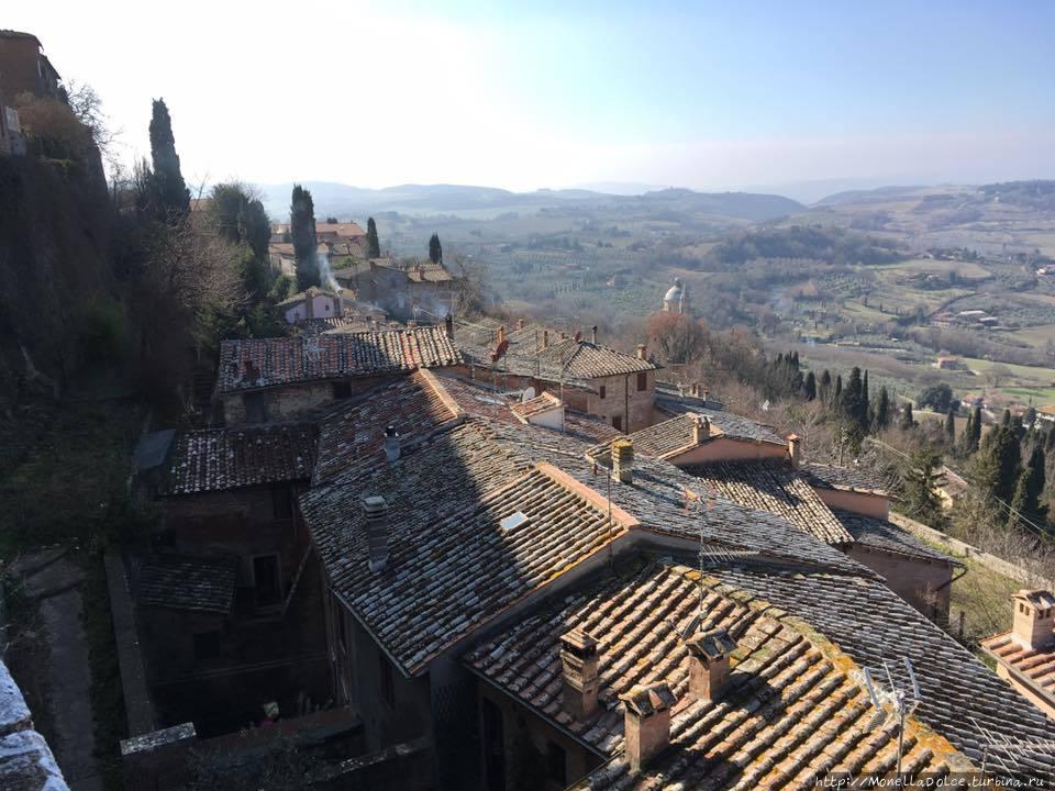Монтэпулчиано: базилика Сан Биаджо (2017) Монтепульчано, Италия