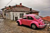 Такой вот балканский колорит на узких улочках