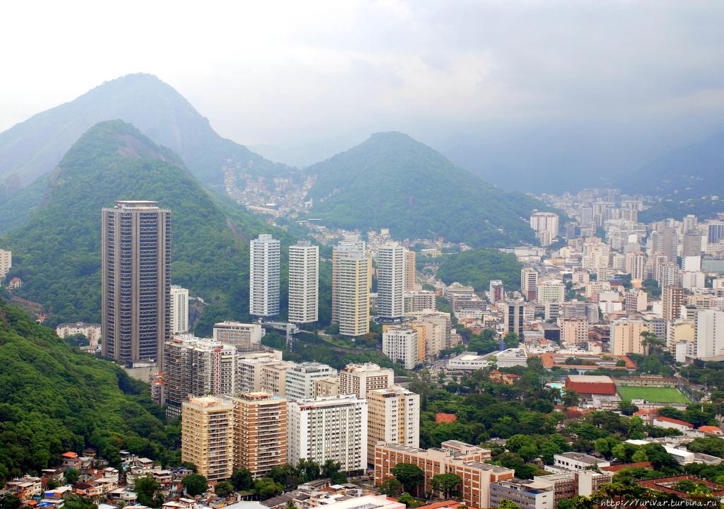 Рио красив своими квартал
